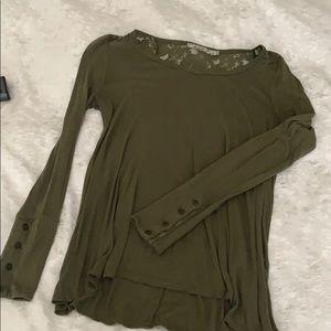 XS / Olive Green - Chloe K shirt -comfy & stylish